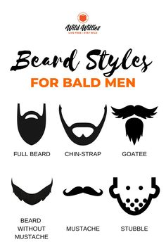 Stubble (or a permanent 5 o'clock shadow) is another interesting place you can take your beard as you start to bald. The five o'clock shadow is a great look for men who want the benefits of a beard without the hassle. Read on to learn 6 great #beardstyles Great Beards, Awesome Beards, Beard Growth, Beard Care, Beard Styles For Men, Hair And Beard Styles, Amish Beard, Bald Head With Beard, Badass Beard