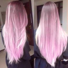 pastel pink and purple hair - Google Search