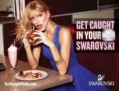 Swarovski: Get caught in your Swarovski, 1