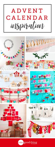 Countdown to Christmas in style with some of my favorite advent calendar ideas curated from across the world wide web! So much inspiration!