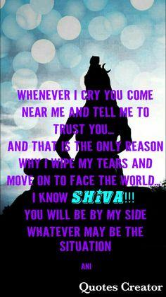 Believe ☆♡ 💫ॐ.....z❤️NSpiceC🌶🦋14Jan2019~*💕 ⭐️ Shiva Linga, Mahakal Shiva, Shiva Statue, Lord Krishna, Hindu Quotes, Krishna Quotes, Religious Quotes, Ramayana Quotes, Shankar Bhagwan