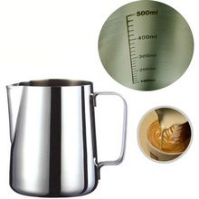 Japanese-style Thickened Stainless Steel Espresso Coffee Milk cup mugs caneca thermo Frothing Pitcher Steaming Frothing Pitcher(China (Mainland))