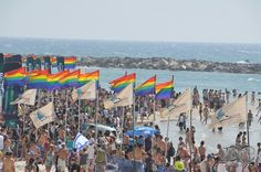 #Gay Pride Event in Tel Aviv!  http://www.gaytravel.com/