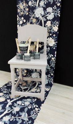 Kalkkimaali Vintro-kalkkimaalit, joilla esimerkiksi seinille ja kalusteille voi antaa ihanan peittävän, liitumaisen mattapinnan. Chalk Paint, Kitchen, House, Painting, Cooking, Home, Kitchens, Painting Art, Paintings
