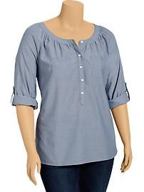 Plus Size Blouses | Old Navy