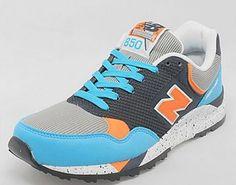 New Balance 850 Blue Orange Black Size exclusive