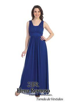 Vestido de Fiesta en color Azul