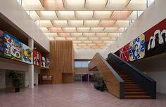 Escola Secundária Domingos Sequeira - BFJ Arquitectos - João Morgado - Architecture Photography