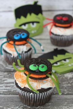 OREO Spider Cupcakes recipe | Fun Halloween cupcake