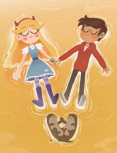 Starco, Star Y Marco, Star Force, Shared Folder, Star Wars, Fanart, Star Butterfly, Star Vs The Forces Of Evil, Force Of Evil
