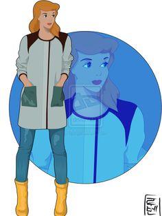 Les personnages de Disney relookés selon les tendances d'aujourd'hui