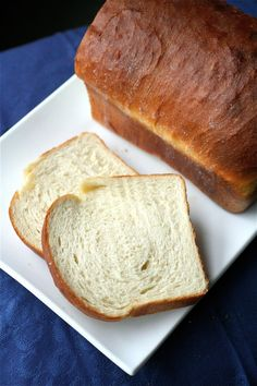Previous pinner said: This is the BEST sandwich bread I have ever made. I made the dough two nights ago, and the result was two humongous, fluffy, seriously delicious loaves! I used half whole-wheat flour and half white flour.