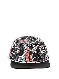 HOTTOPIC.COM - Marvel Ultimate Spider-Man Group Snapback Hat