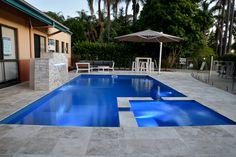 The Absolute by Leisure Pools #Spa #Pool #Lighting #Backyard #Inspiration #Love #Life #Live #LeisurePools #LifeofLeisure #Design