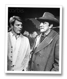 BROTHERS PETER GRAVES AND JAMES ARNESS