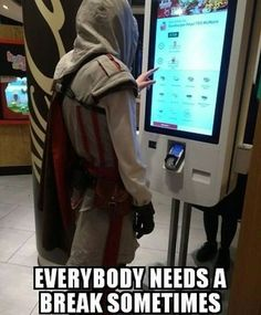 He'd like an Apple as dessert -GDM #assassinscreed #assassins #assassin #ac #assassinscreeed2 #assassinscreedbrotherhood #assassinscreedrevelations #assassinscreed3 #assassinscreedblackflag #assassinscreedrogue #assassinscreedunity #assassinscreedsyndicate #altairibnlaahad #ezioauditore #connorkenway #edwardkenway #arnodorian #jacobfrye #eviefrye #GeekVerse