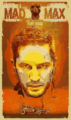 Tom Hardy in Mad Max: Fury Road - The Dark Inker