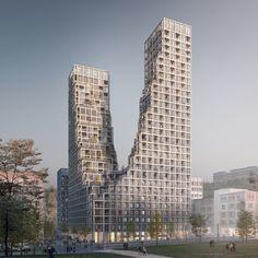Gallery of Kjellander+Sjöberg Wins Competition For a New Sustainable Landmark in Sweden - 6