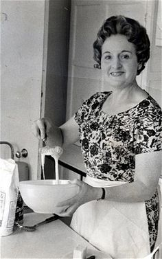 Hilda Elsie Marguerite Patten, CBE, née Brown, is an English home economist, food writer and broadcaster.  Born: November 4, 1915 (age 97)  During World War II, she worked for the Ministry of Food suggesting nourishing and inventive recipes using the rationed food that was available. She broadcast her ideas and advice to the nation on a BBC radio programme called the Kitchen Front. When the war ended, she demonstrated kitchen appliances for Harrods. British People, My Cookbook, Recipe Using, English House, Bbc Radio, Women In History, British Isles, Afternoon Tea, Homemaking
