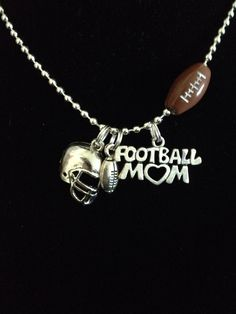 Football Mom Necklace by Kaylas2008 on Etsy, $12.00