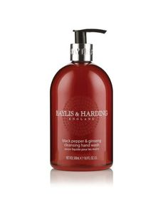 3377cff6ad Amazon.com   Baylis   Harding  Beauticology Home Of Beauty - Black Pepper    Ginseng 500ml Hand. Wash A beautiful gift  Home   Kitchen