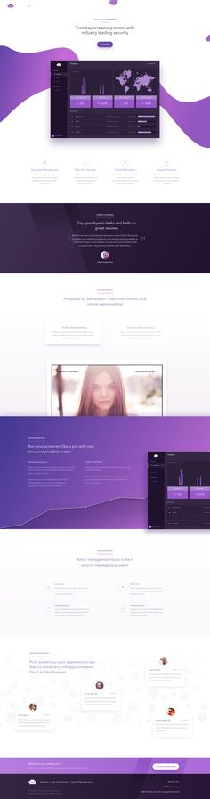 Screeners Landing   #ui #ux #userexperience #website #webdesign #design #minimal #minimalism #art #white #orange #blue #red #violet #yellow #data #app #ios #android #mobile #clean #blog #theme #template #chart #graphic #travel #map #ecommerce #fashion
