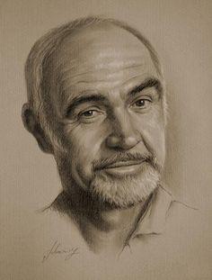 Portrait au crayon 9                                                                                                                                                                                 Plus