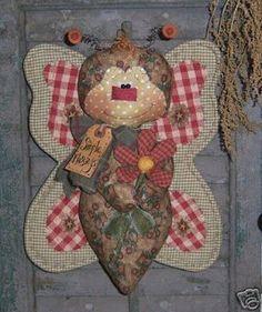 Coisinhas de Pano: boneca country