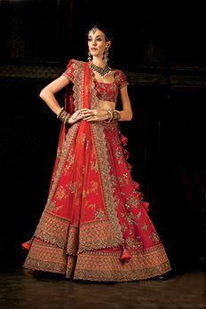 Velvet lehenga choli and net dupatta embellished with heavy zardosi and stone work. #Benzer #Benzerworld #Lehenga #BridalLehenga #IndianBride #BrideInspiration