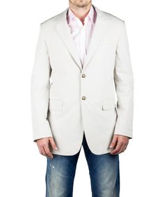 PRADA Prada Men'S Notched Lapel Suit Sport Jacket Coat Blazer White'. #prada #cloth #coats & jackets