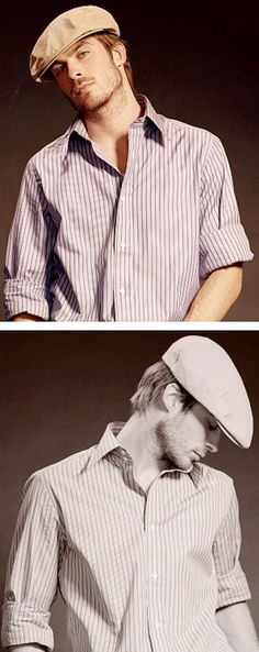 Ian Somerhalder...he reminds me of Ryan Gosling when he was in the Notebook.