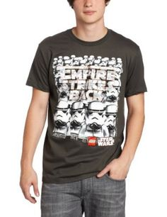 Mad Engine Men's Lego Star Wars Troop Shot Tee #LEGO #StarWars #T-Shirt $17.50 Lego Store, Lego Design, Lego Star Wars, Troops, Engine, Mad, Stars, Boys, Mens Tops