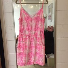 Amanda Uprichard pink zebra dress Perfect condition. Worn one time only. Feel free to make a reasonable offer! Amanda Uprichard Dresses Mini