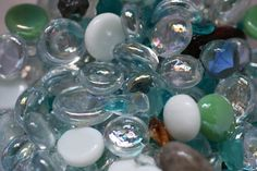 We all know that recycling is important, and melting glass bottles at home is one creative way to go about it. The glass bottles can be melted down to make jewelry, window panes or other works of. Glass Marbles, Glass Bottles, Glass Beads, Wine Bottles, Beer Bottle, Bottle Art, Bottle Candles, Slumped Glass, Fused Glass