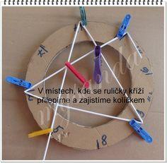 """Vytvořte si kruh potřebné velikosti. Změřte si průměr a zde si vypočítejte obvod kruhu. Do tabulky zadejte hodnotu průměru, klikněte na """"vypočítej"""" a ihned budete znát obvod svého kruhu. Obvod si rozpočítejte, v tomto případě osmicípé hvězdy na 8 dílů, po obvodu si naměřte dílky a označte čísly dle obrázků Nebude-li něčemu rozumět, napište dotaz do komentáře, je možné, že by chtělo znát odpověď více motalinek. Takto bude veškerá diskuze pěkně přehledná a vše na jedné stránce"""