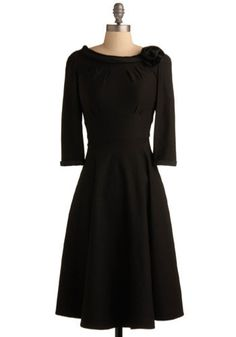 I'd feel like Audrey Hepburn in this dress...