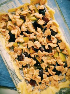 Topfen-Mohn-Zwetschken-Kuchen mit Zimtstreusel