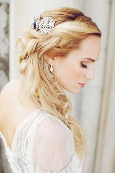Bridal Hairdo's For Long Hair