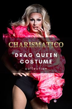 Charismatico offers the largest selection of drag queen costumes that feature amazing beading, sequins and material design. Shop the entire lineup of costumes today! Drag Queen Costumes, Drag Queen Outfits, Feather Headdress, Costume Collection, Leotards, Sequins, Weather, Backpacks, Gowns