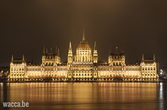 Budapest Parliament by night, Hungary
