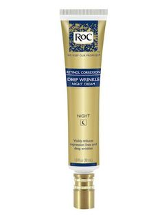 RoC Retinol Correxion Deep Wrinkle Night Cream, $21.99; amazon.com Retinol is, without a doubt, the best over-the-counter wrinkle smoother, and this treatment contains a high concentration of it. Apply it every night and you could see a real difference, even on deep creases.