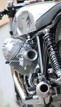 """Moto Guzzi """"Short & Flat"""" by HTMoto"""