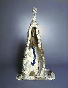 Robert Arneson - The Pisser, Stoneware, 1963  51 x 27 1/2 x 11 inches