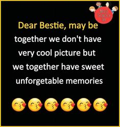 Maham😘Bisma😘Hina miss you! Bff Quotes Funny, Besties Quotes, Some Funny Jokes, Bffs, Qoutes, Best Friend Miss You, Best Friend Quotes, Missing Friends Quotes, Forever Quotes