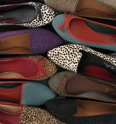 Flats and loafers in all different colors and patterns! Check out more great products on free local shopping app Snapette - www.snapette.com/app