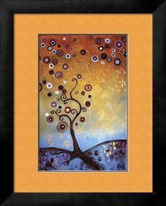 Heaven's Dawn II - Framed Art Print
