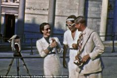 Sightseeing: With war imminent in 1938, Edward, Wallis and her lifelong friend Katherine R...