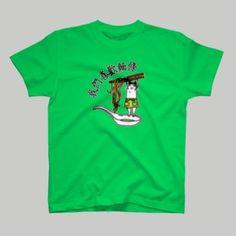 製麺猫 Tシャツ