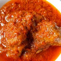 Easy Nigerian Tomato stew - The Pretend Chef - Glinda Jackson - Easy Nigerian Tomato stew - The Pretend Chef - Healthy Crockpot Recipes, Beef Recipes, Chicken Recipes, Cooking Recipes, Savoury Recipes, Nigerian Chicken Stew Recipe, Stew Chicken Recipe, African Stew