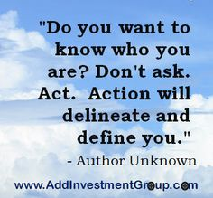 Do you know who you are … #DoSomethingDifferent #Motivation #Inspiration #Quotes #Inspire #Inspired